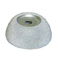 Абразивная полусфера 65/25мм, 9мм зерно 170