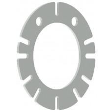 Пластиковый диск с направляющими для адаптеров UniLug