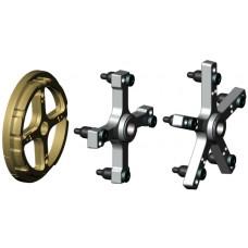 Набор адаптеров для балансировки грузовых колёс