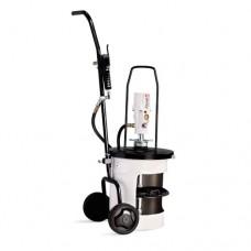 Солидолонагнетатель пневматический мобильный для бочек 20 кг 424152