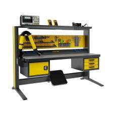 Рабочий стол электромонтажника KronVuz Pro WP-1113-SLV