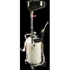 Маслосборник пневматический 65 л с воронкой
