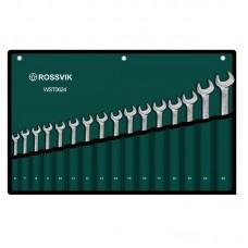 Набор ключей комбинированных ROSSVIK 6-24мм, 16шт WST0624