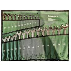 Набор ключей комбинированных ROSSVIK 6-32мм, 26шт WST0632