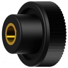 Пластиковая гайка с насечкой для крепления ножки 400e008 041
