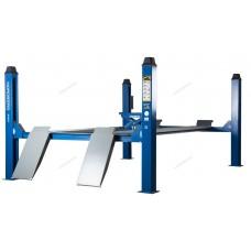 Подъемник четырехстоечный, c траверсой, г/п 4,5 тонны, для слесарных работ NORDBERG 4445J