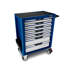 Тележка инструментальная 7 полок (синий)
