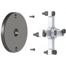"""Комплект адаптеров для балансировки колёс 19,5"""" автомобилей MB Ateco / Iveco Eurocargo"""