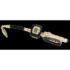 Маслораздаточный пистолет с электронным счетчиком литров и с мягким наконечником