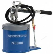 Установка для раздачи густой смазки 8 кг NORDBERG N5008