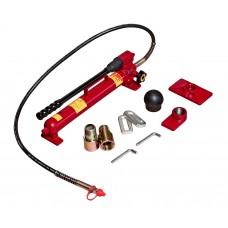 Набор инструментов 38 предметов гидравлический 10т для ремонта кузова в кейсе