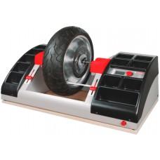 Установка для статической и динамической балансировки мотоциклетных колёс