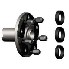 """Адаптор Uni-Lug """"405"""" со станд. гайками, для конического вала d=40 мм 405818108"""