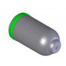 Головка сферическая, длина 48 mm, ? 24,5 mm