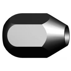 Крепежная гайка с резьбой M10x1,25 mm с двусторонней головкой конической и сферической формы