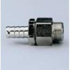 Вращающийся штекер-ёлочка с наружной резьбой, для полиуретановых шлангов